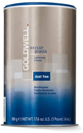 500g Goldwell Oxycur Platin Dust Free