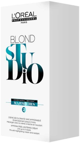 Loreal Blond Studio Lightening Sachets 6 x 25g-0