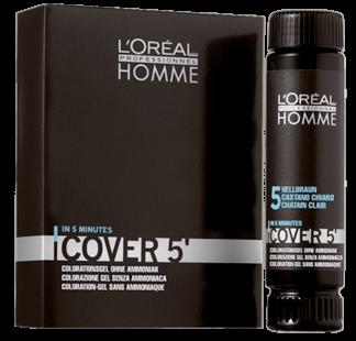 L'Oréal Homme Cover5 3x50ml - Nr. 5 hellbraun-0