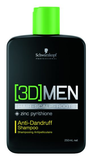Schwarzkopf 3D Men Anti Dundruff Shampoo 250ml-0