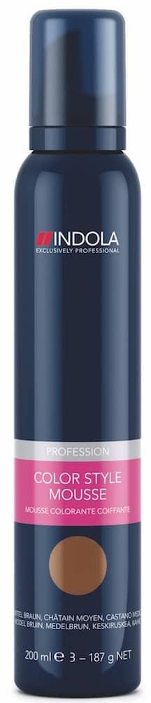 Schwarzkopf Indola Color Style Mousse mittelbraun-0