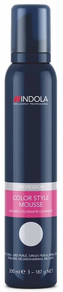 Schwarzkopf Indola Color Style Mousse perlgrau-0