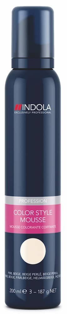 Schwarzkopf Indola Color Style Mousse perlbeige-0