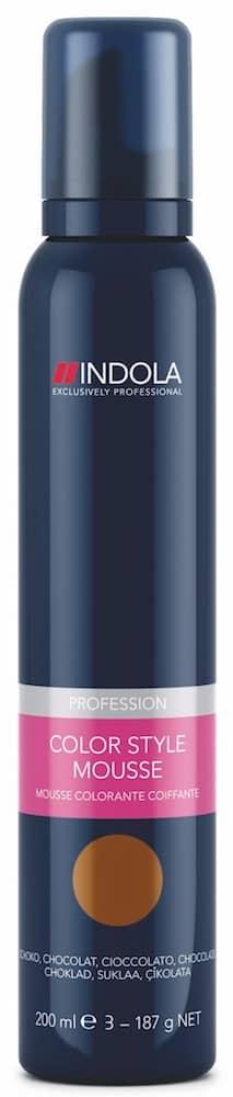Schwarzkopf Indola Color Style Mousse schokobraun-0