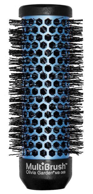 Olivia Garden Multibrush Bürste oder Wickler blau 36mm-0