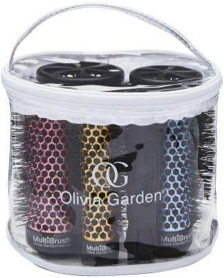 Olivia Garden Multibrush Bürste oder Wickler 6er SET (5 Bürsten+1 Griff)-0